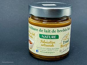 Confiture de lait de brebis bio 250g - Tradi Bergère