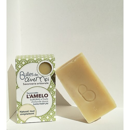 Bulles des Cévennes - L'Amelo savonnette à l'huile d'amande douce
