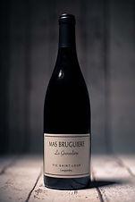 La Grenadière vin rouge 75cl AOP Pic St Loup - Mas Bruguière