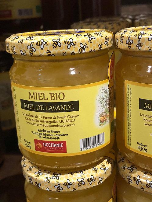 Les Ruchers de la Ferme de Puech Cabrier - Miel de Lavande 250g