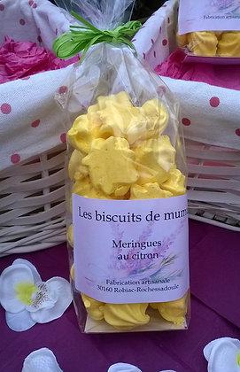 Biscuiterie de Mumu - Meringues au citron 70g