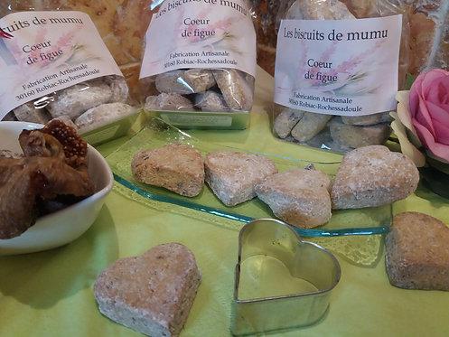 Biscuiterie de Mumu - Cœur de figues 150g