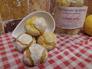 Crinkles lemon - Les Biscuits de Mumu