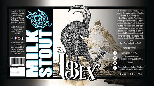 Bière ZooBrew - Ibex Milk Stout 33cl