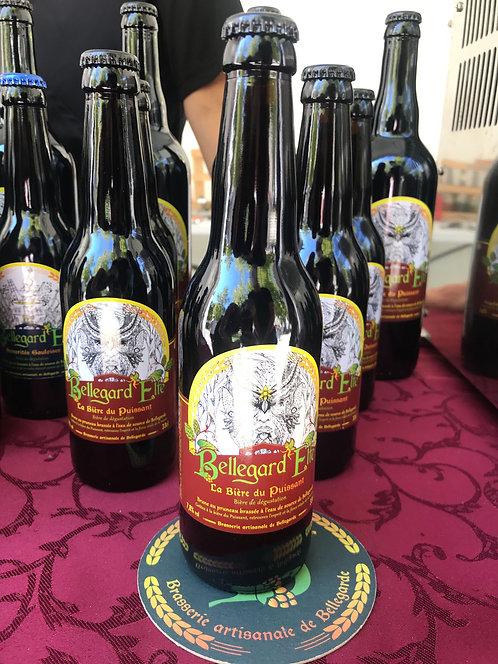 Bière Bellegard'Elfe - La Bière du Puissant (Brune) 33cl