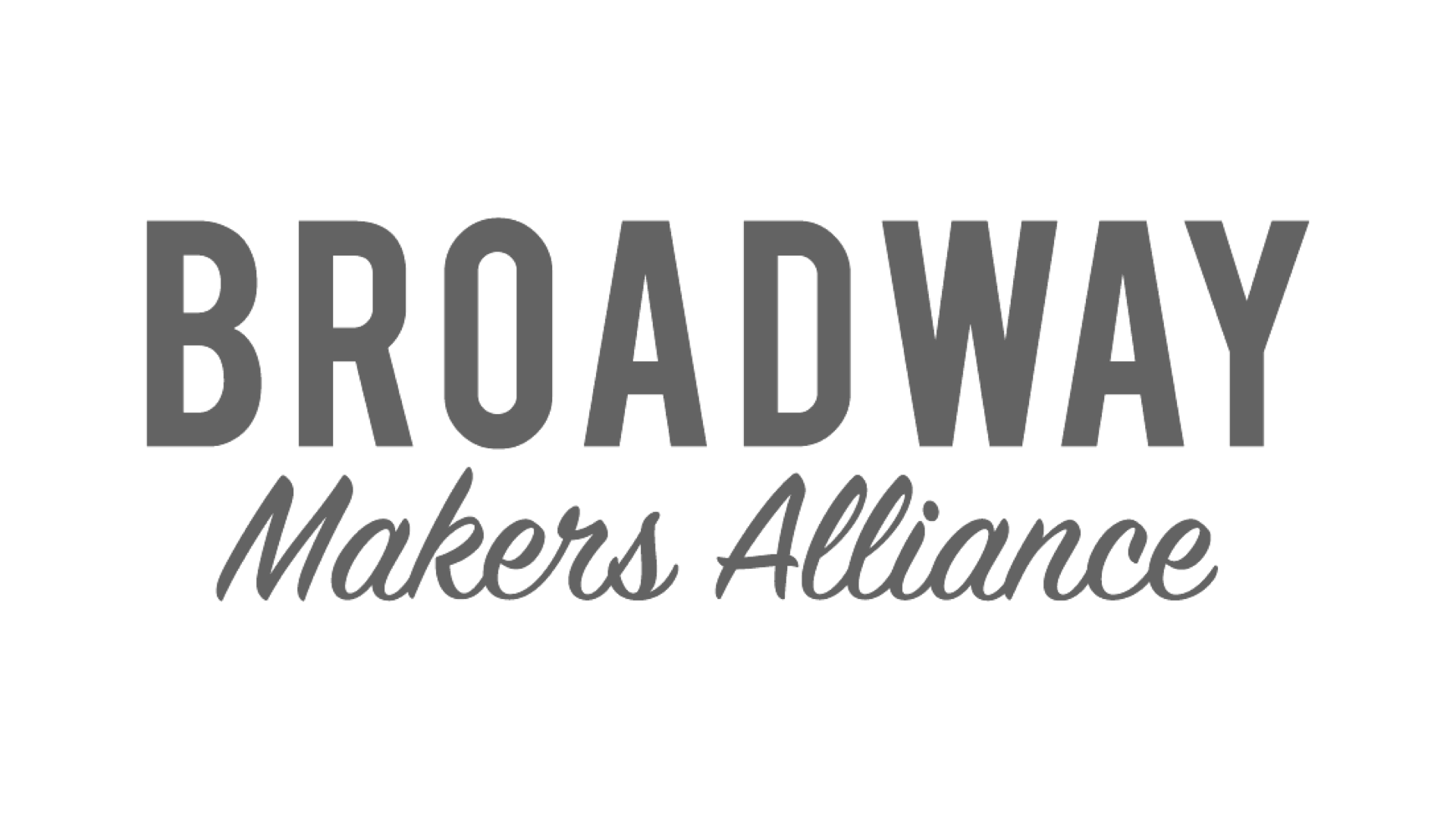 Broadway Maker Alliance