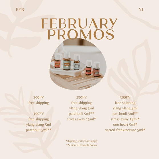 February Essential Rewards Promos