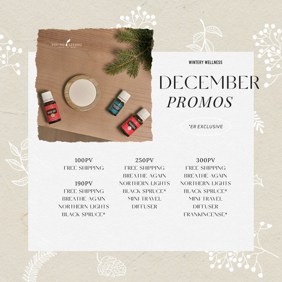 December Essential Rewards Promos