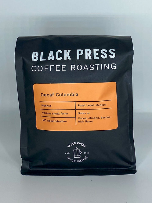 12oz Decaf Colombia