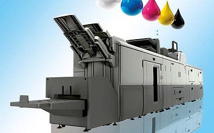 HP Indigo digital printing press for short run high quality printing
