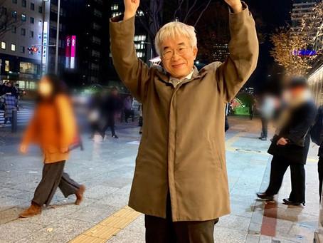 フラワーデモ仙台・啓発ティッシュ配布に参加