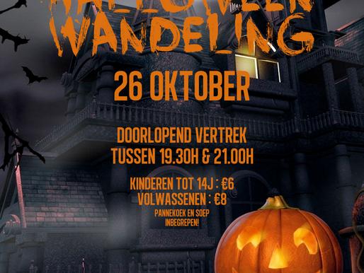 Halloweenwandeling