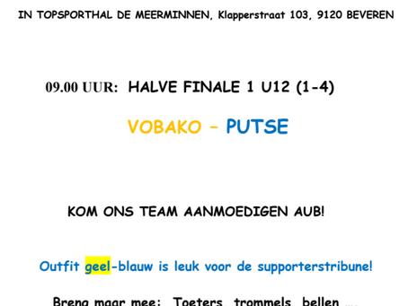 Halve finale U12