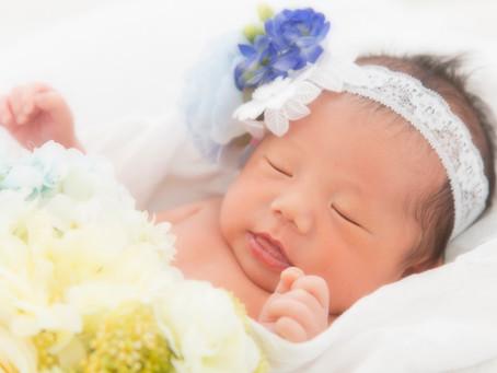 さいたま市ニューボーンフォト撮影の赤ちゃん