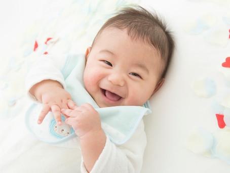 お宮参り3ヶ月の男の子