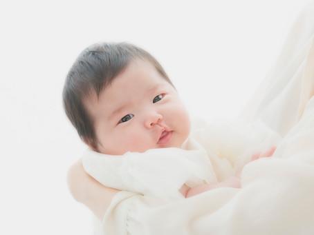 お宮参り2ヶ月の女の子