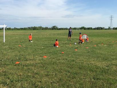 East Selkirk Soccer Skills Camp
