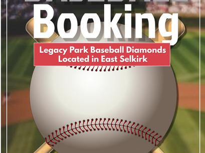 Baseball Diamond Rentals