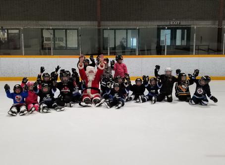 Santa visits Learn-to-Play