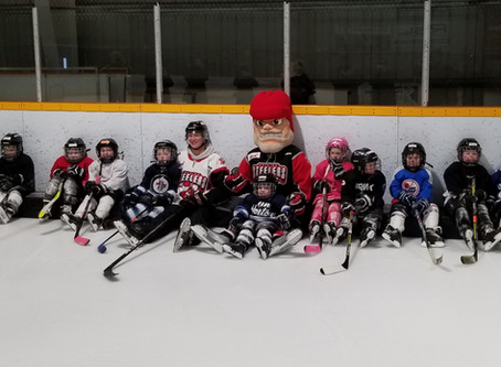 The Selkirk Steelers visit LSMHA Learn-To-Play