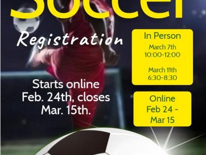 ESRA Soccer Registration