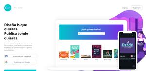 Sitio Web para Crear Material Gráfico Online y Gratis N° 1: Canva