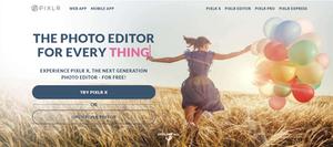 Sitio Web para Crear Material Gráfico Online y Gratis N° 2: Pixlr