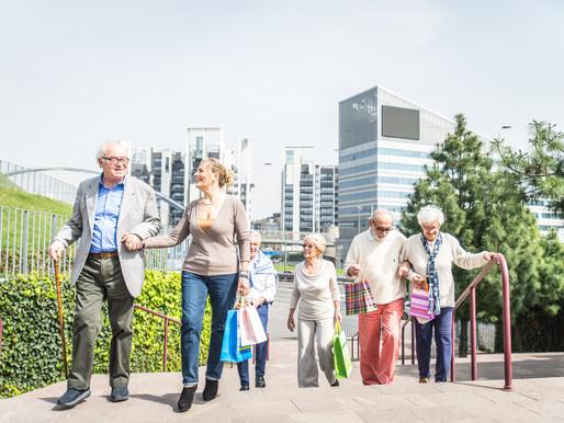 Jubilación: ciudades más amigables para los adultos mayores
