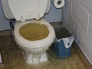 sewage-flood