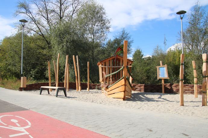 Budowa parku rzecznego i terenów rekreacyjnychw rejonie ul. Kobierzyńskiej i ul. Rydlówka