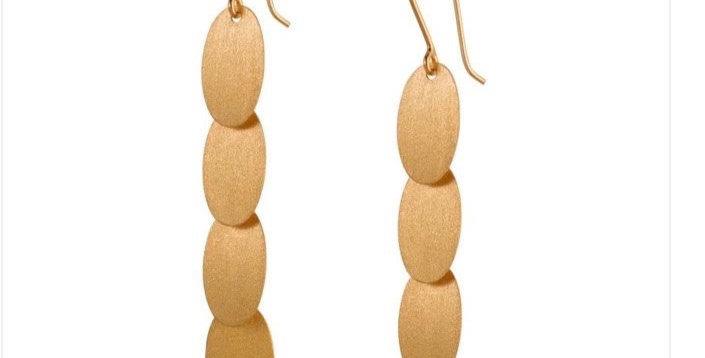 Confetti Gold Earrings