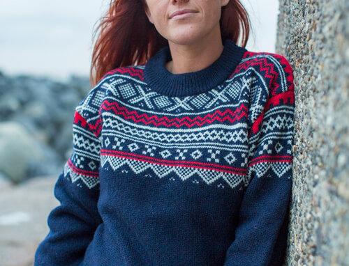Norwegian sweater 100% pure wool by Norwool