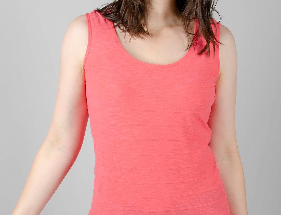 Lily and Me Layering Vest - Paradise Pink