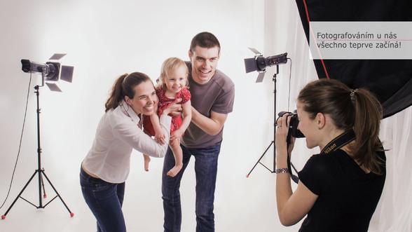 jak probíhá rodinné focení
