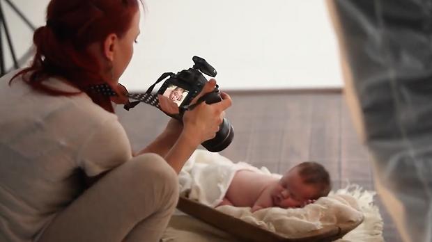 Markéta Málková newborn fotografka MONA photography praha