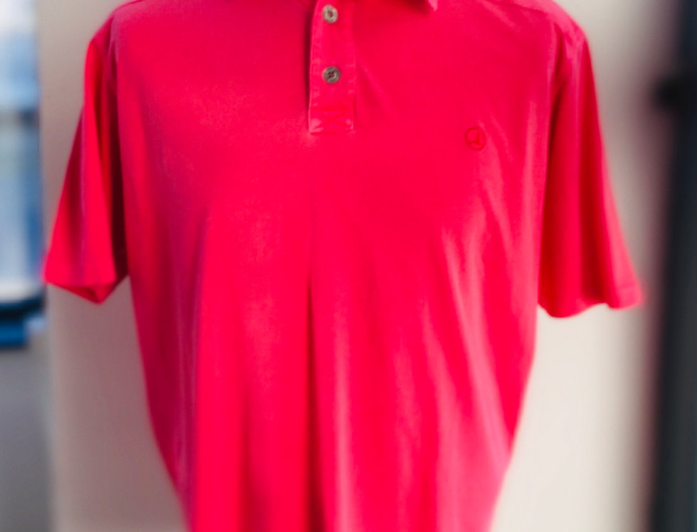 Mens Key West Sea Ranch Polo - Washed Coral