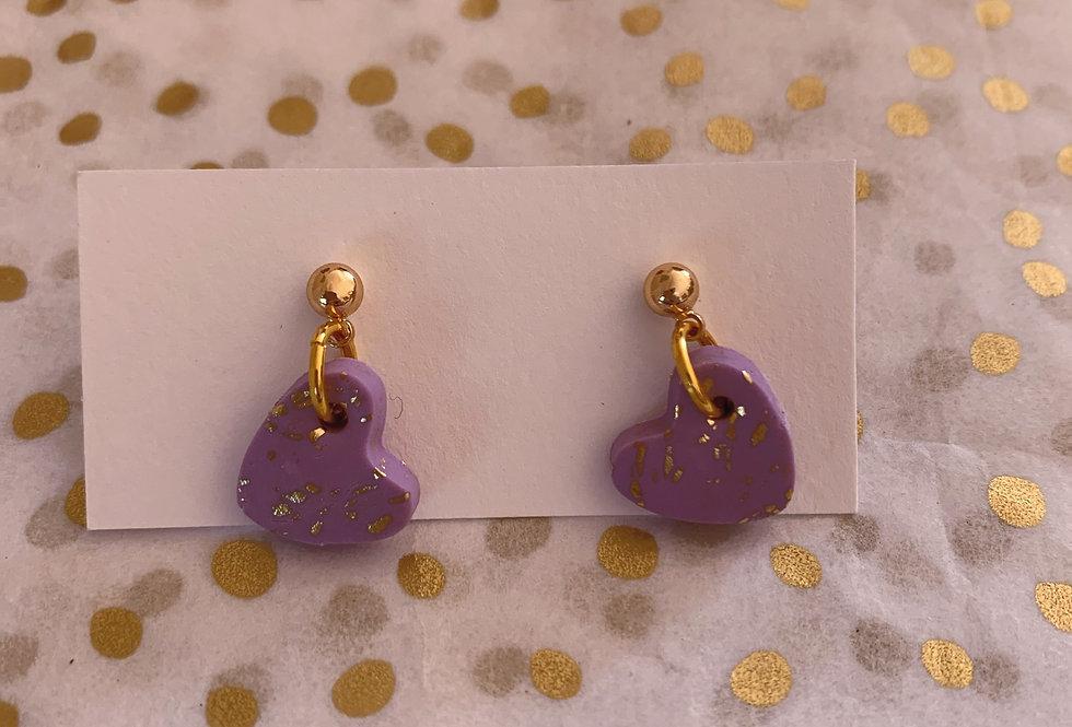 Love Hearts - lilac