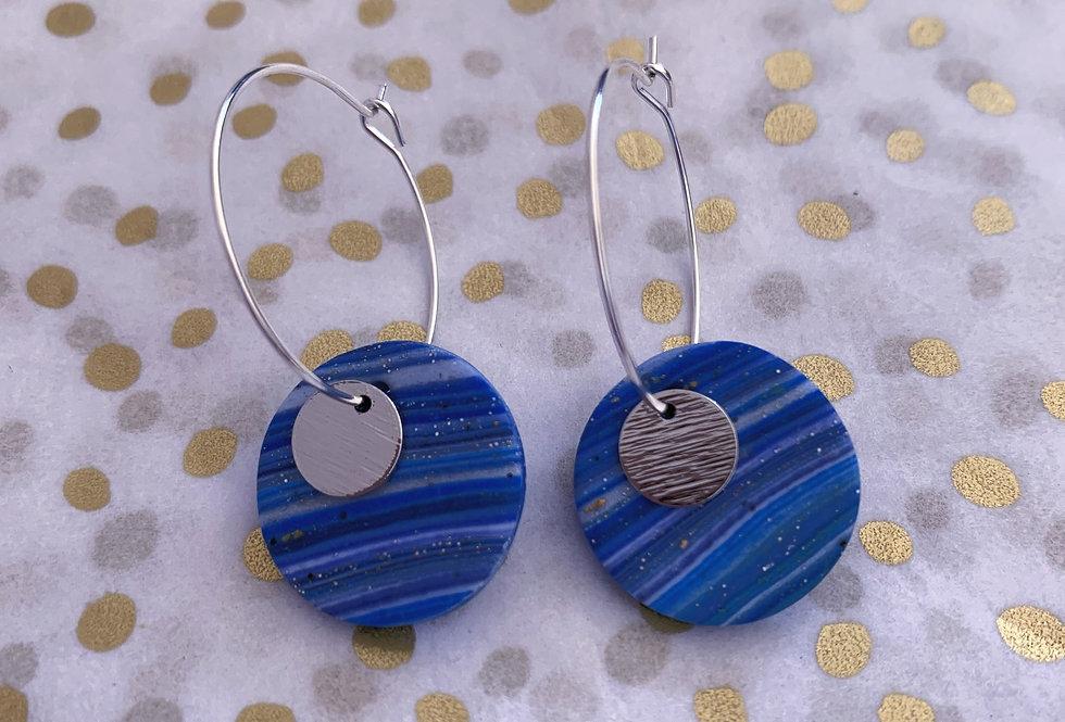 Seaside Hoops - blue