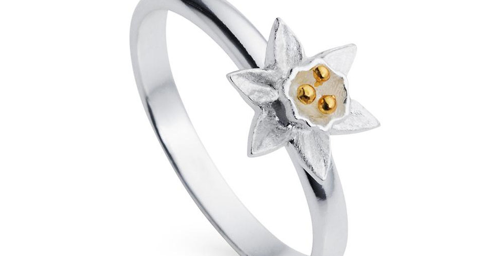 Scilly daffodil ring