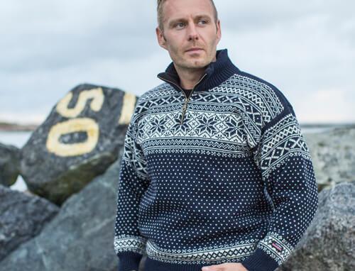 Wool Jumper of 100% pure new norwegian wool by Norwool