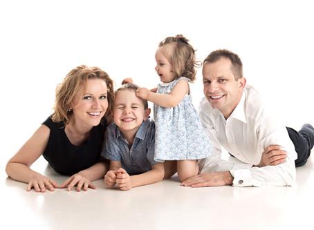 Jak se nejlépe připravit na rodinné focení