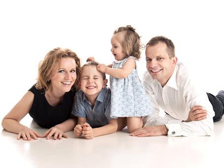 👨👩👧👦 Jak se nejlépe připravit na rodinné focení