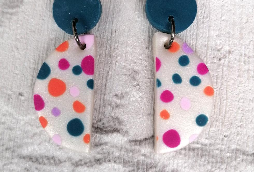 Bright polka dots