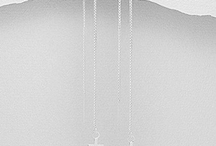 Thread Earrings - Anchor