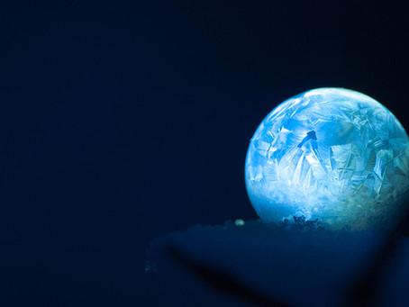 ❄️ Jak udělat a úžasně vyfotit zmrzlé bubliny? 💭