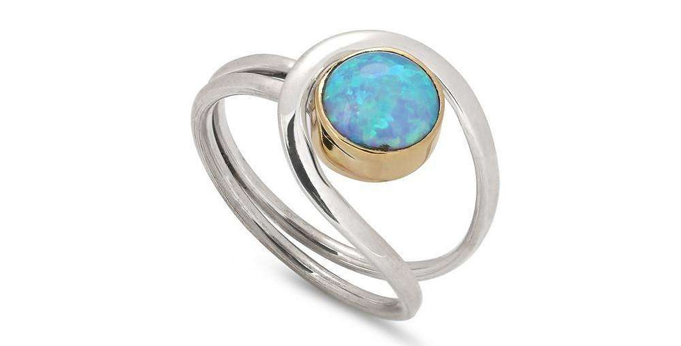 OPAL LOOPED RING