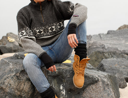 Norwegian sweater of 100% pure new wool by Norwool.