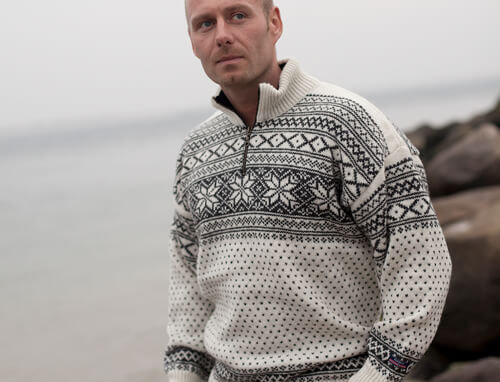 Wool Sweater of 100% pure new wool by Norwool