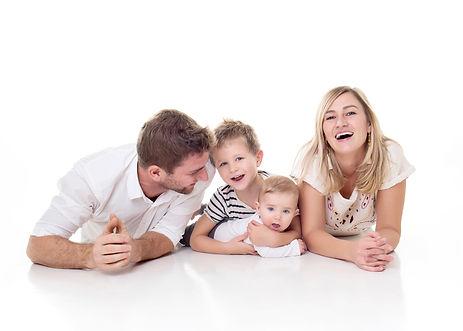 doporučení na rodinné focení v ateliéru praha