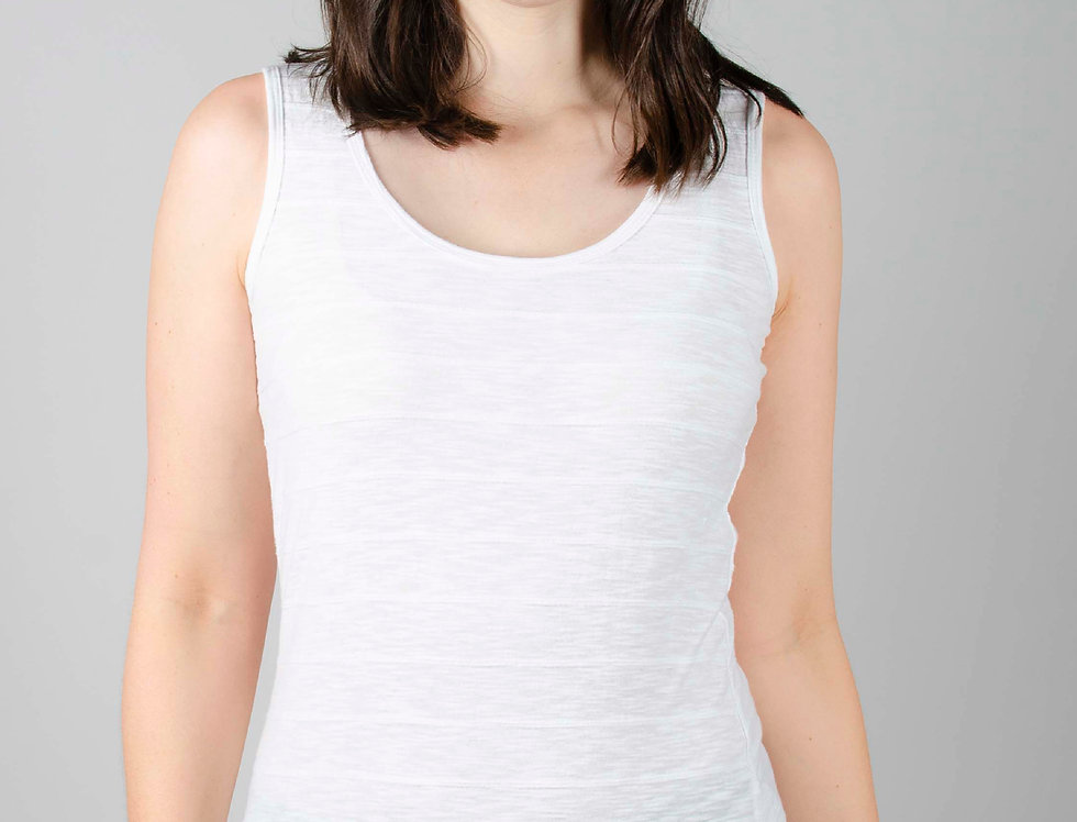 Lily and Me Layering Vest - White